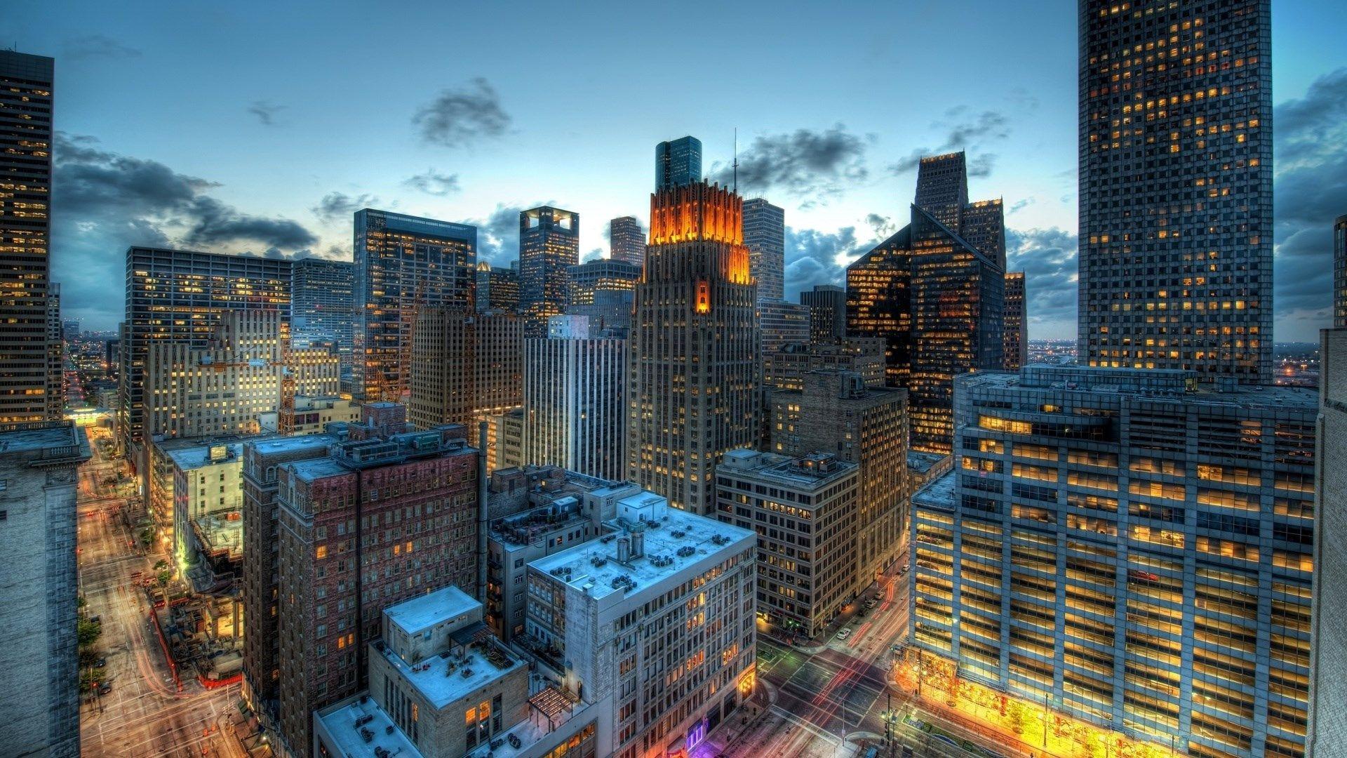 houston skyline wallpaper 1920x1080 Houston skyline