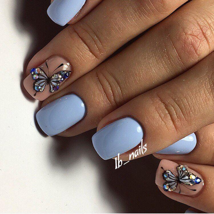 Nail Art 4224 Butterfly Nail Art Butterfly Nail Designs