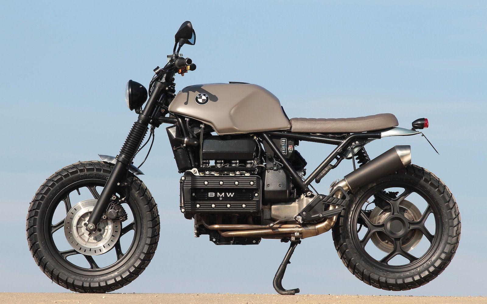 readers 39 rides daniel 39 s k100 scram bikes bmw k100. Black Bedroom Furniture Sets. Home Design Ideas