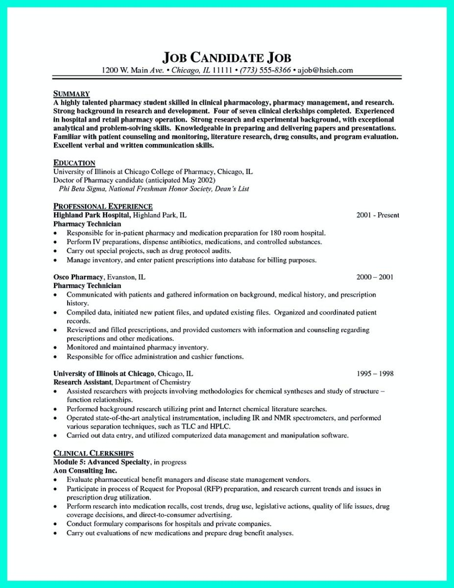 Cool What Objectives To Mention In Certified Pharmacy Technician Resume Check More At Http Snefci Resume Skills Pharmacy Technician Cover Letter For Resume