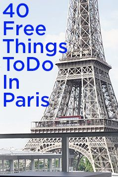 The French capital may be known for all things fashionable and fancy (high style, fine art, foie gras), but you can take it all in without opening your wallet.