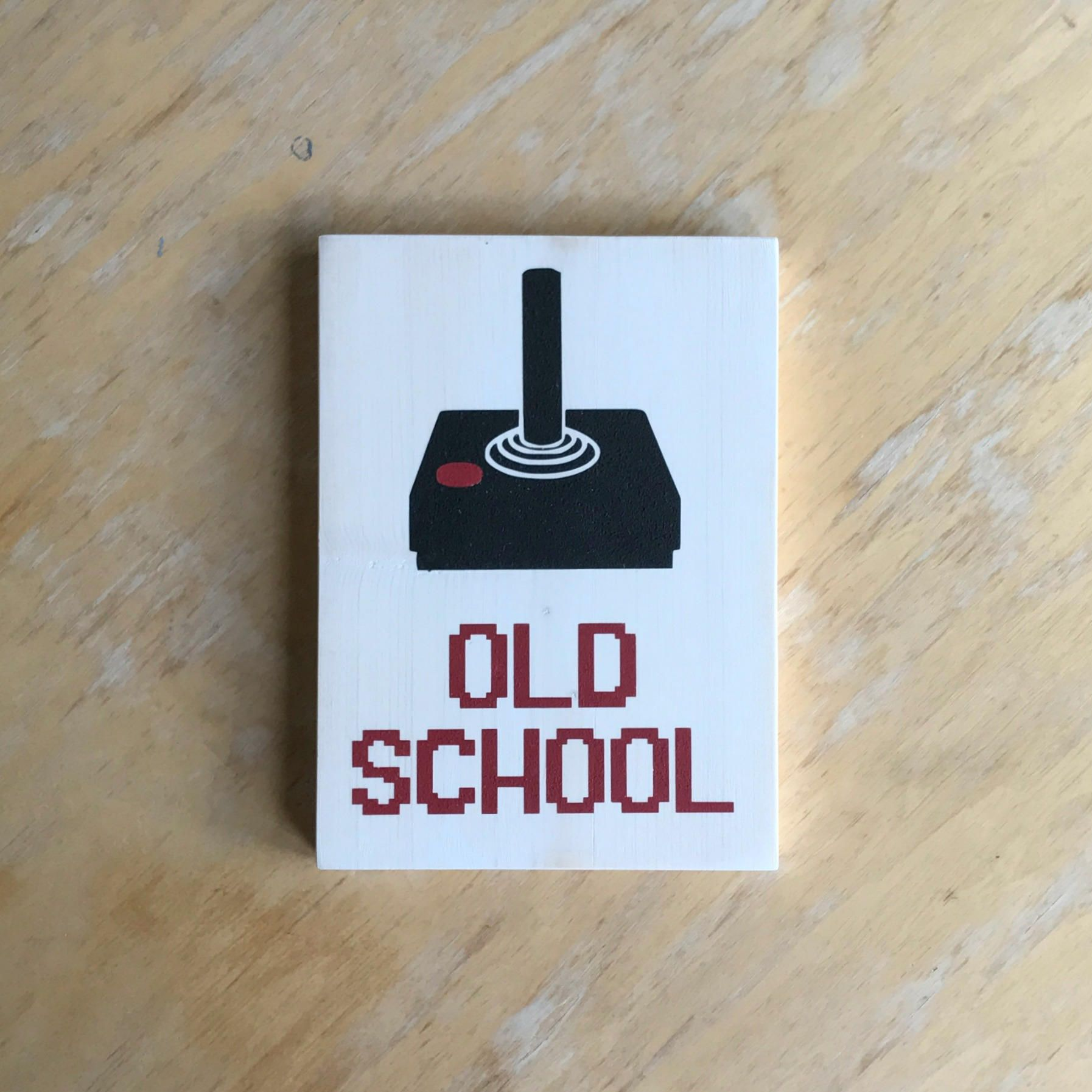 Gamer Sign - Old School - Retro Video Game Home Decor - Video Game ...