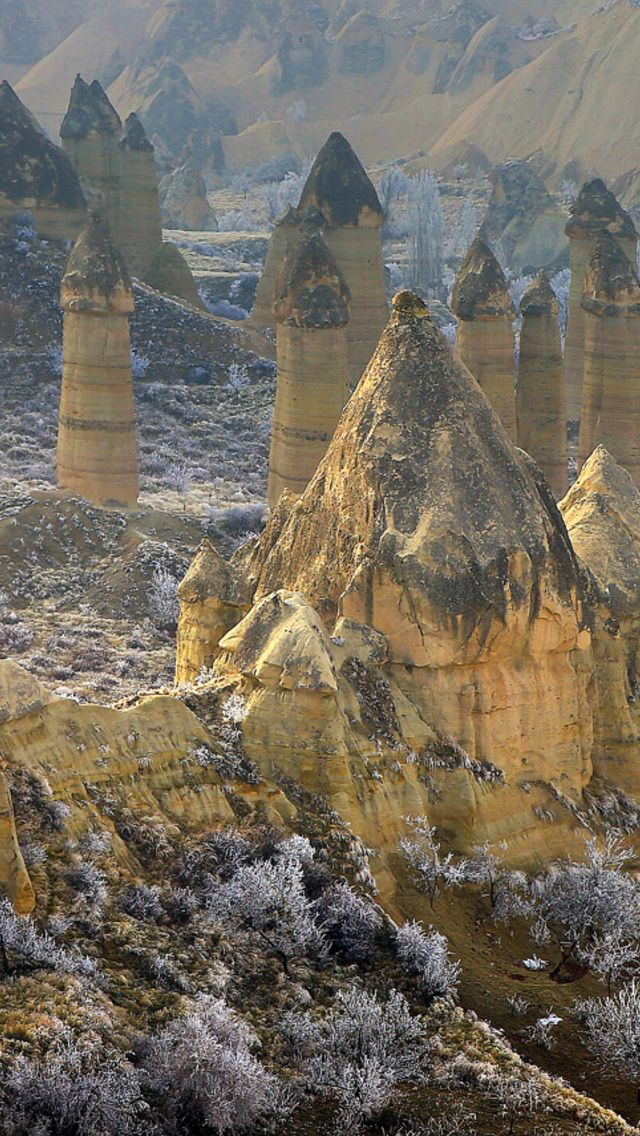 Iphone 5 Wallpapers Cappadocia Anatolia Turkey Wallpaper For