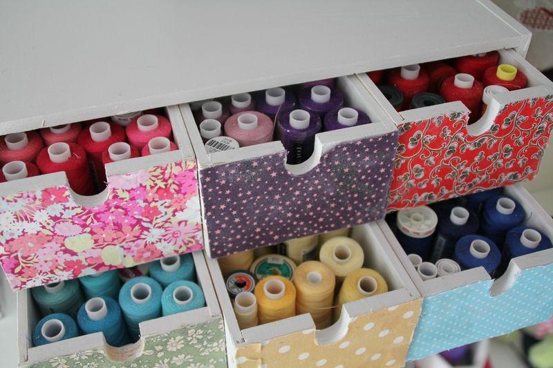l'atelier - Une Prune à l'Anis   Atelier couture amenagement, Pièce de loisirs créatifs et ...