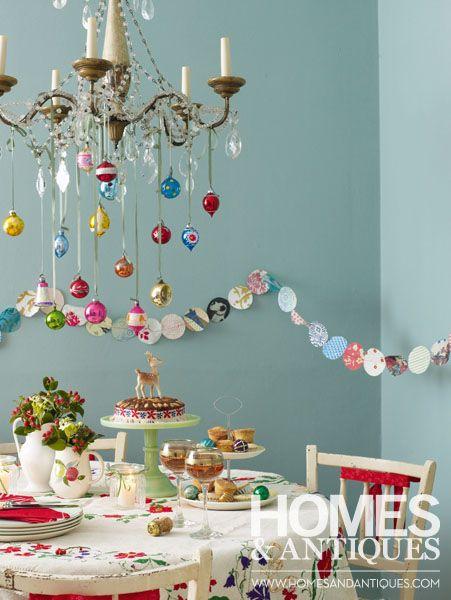 Colourful Christmas tree baubles christmas Pinterest - decoraciones navideas para el hogar