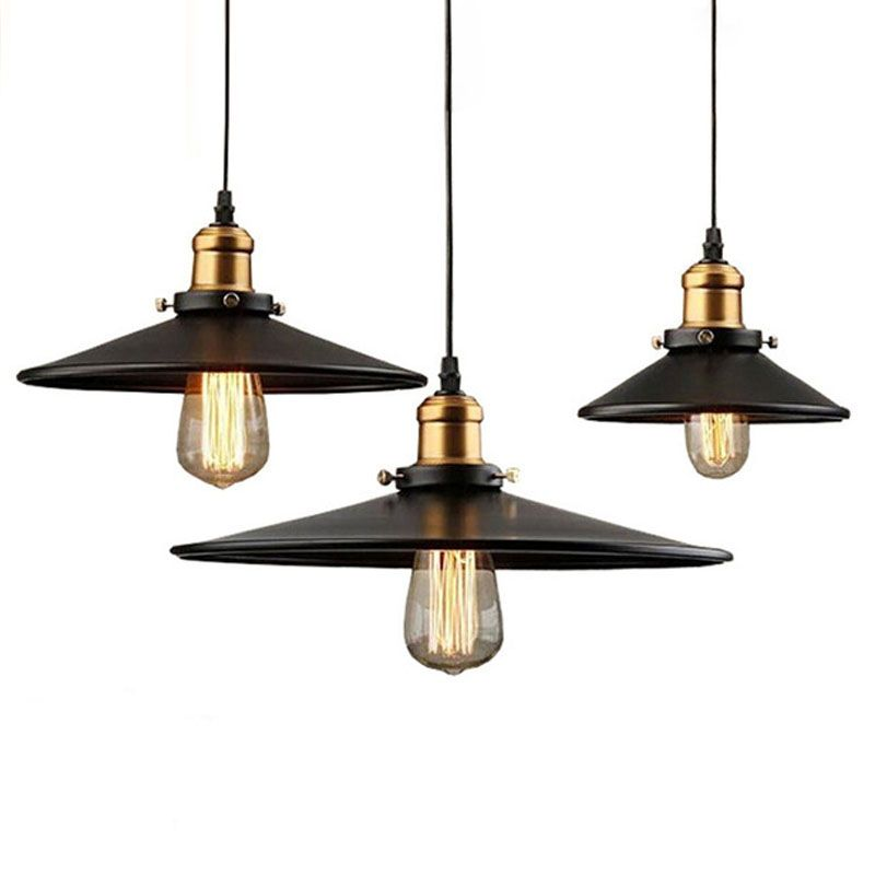 Loft Rh Industrial Warehouse Pendant Lights American Country Lamps