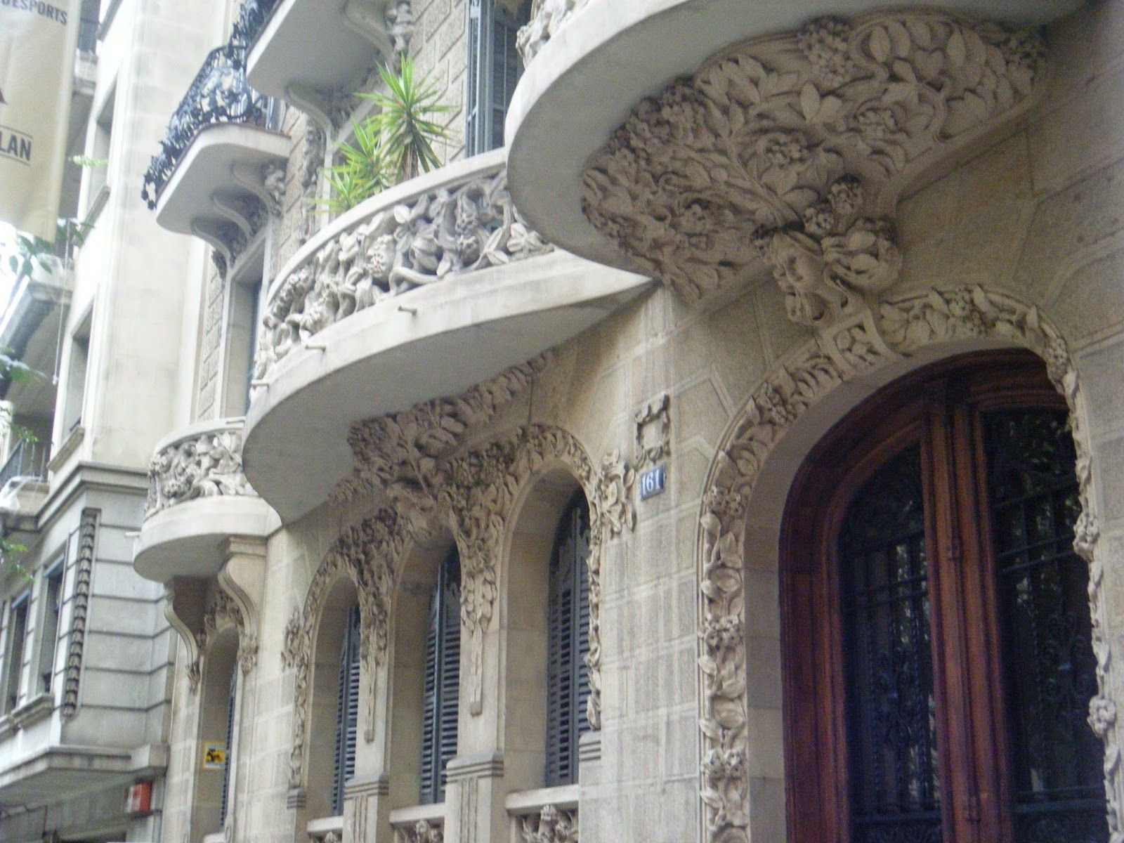 Bâtiment art nouveau, Barcelone