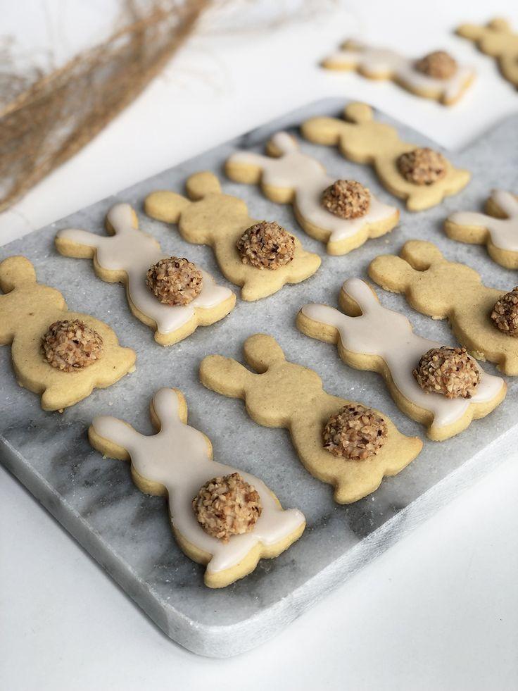 Mein liebstes Mürbteig Rezept für Oster-Kekse