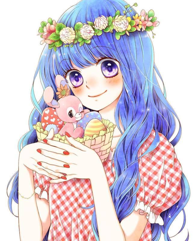 Bleu (page 2) Hey Mangas !【2020】 芸術的アニメ少女, アニメの女の子