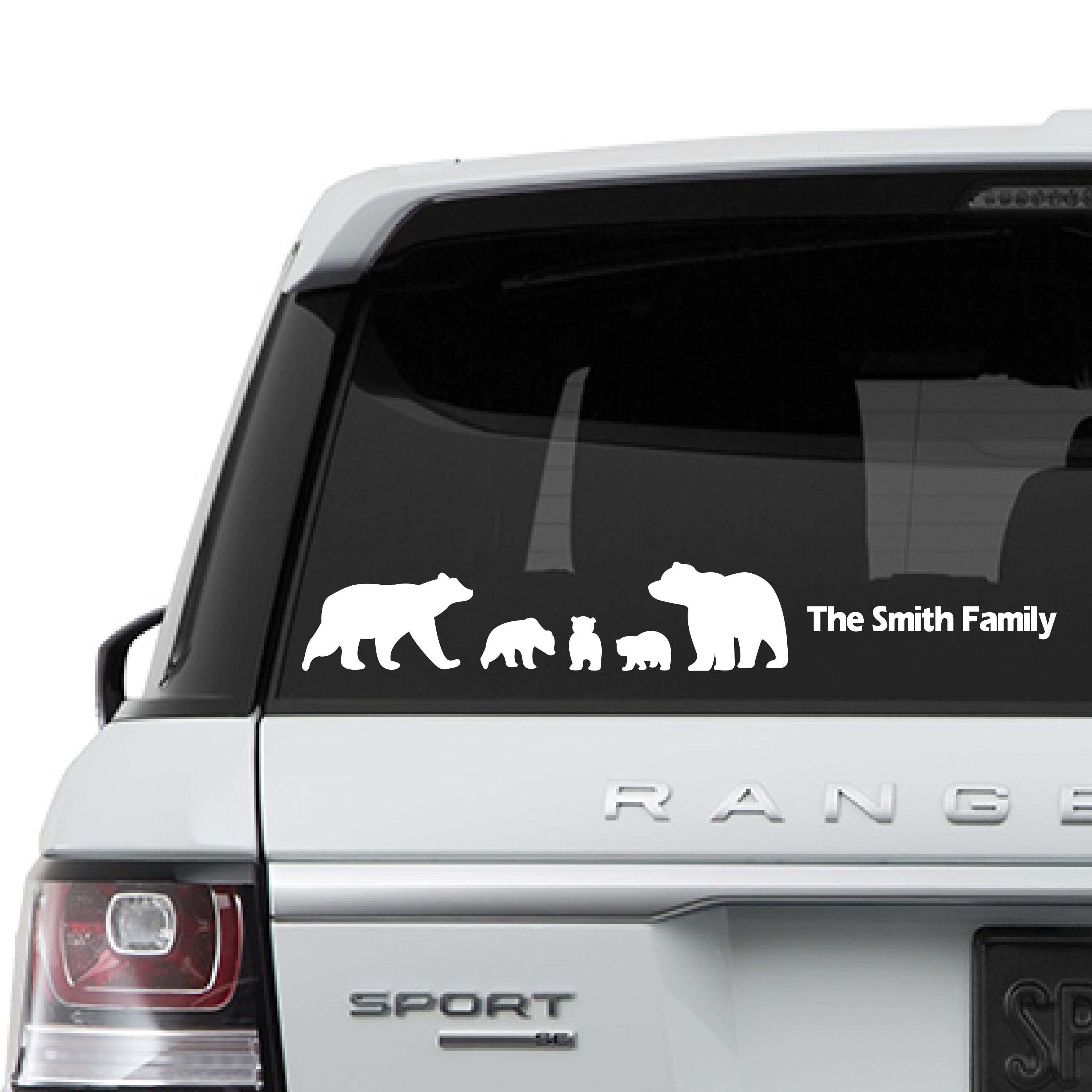 Bear Family Car Stickers Family Car Decals Family Car Window Decals Mama Bear Papa Bear Baby Bear Silhoue Family Car Stickers Baby Decals Family Car Decals [ 3000 x 3000 Pixel ]