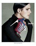 "Stella Tennant por Luigi & Iango para ""Art of Fashion"" da Neiman Marcus"