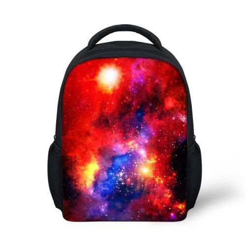 ecaf3a1cca Fashion Little Girls Backpack Galaxy Star Universe Space for Children High  Quality Student Kids School Backpack Mochila infantil