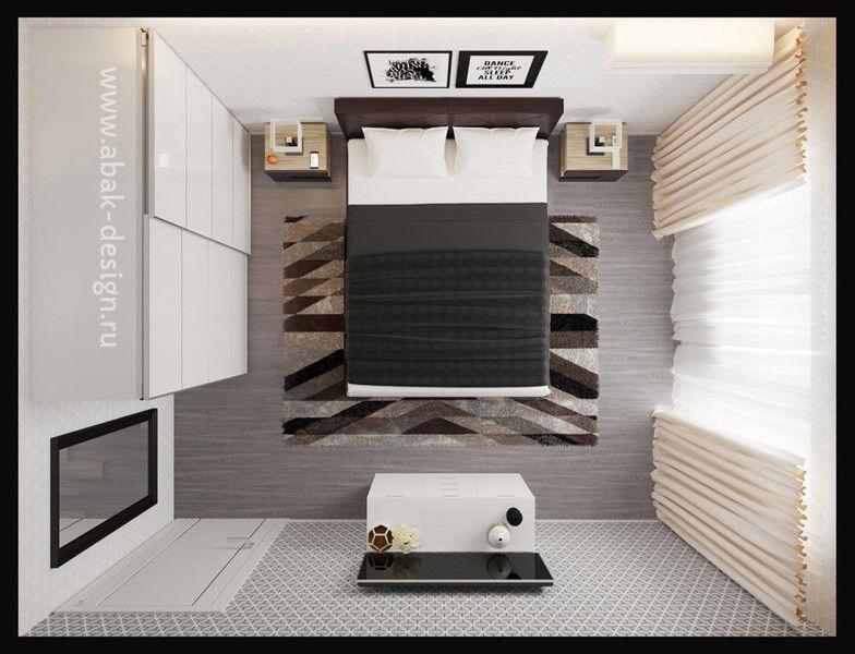 Планировка двухкомнатной квартиры п44т | Студия Дениса Серова | 600x784