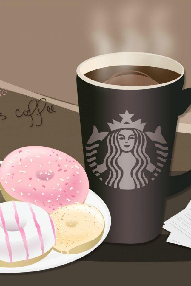 Starbucks coffee and donuts Starbucks wallpaper