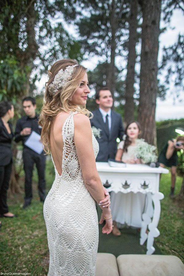 Crochet Wedding Dresses Beautiful Stuff