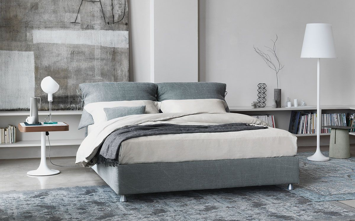 Design della camera da letto secondo Flou | Bedroom | Pinterest ...