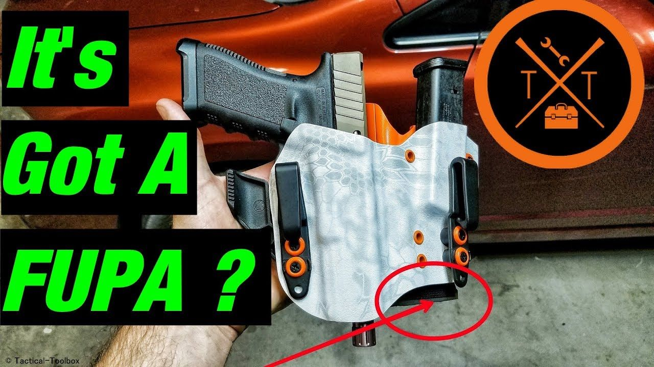Let's Look at an Appendix Carry Glock 17 Holster From KSG