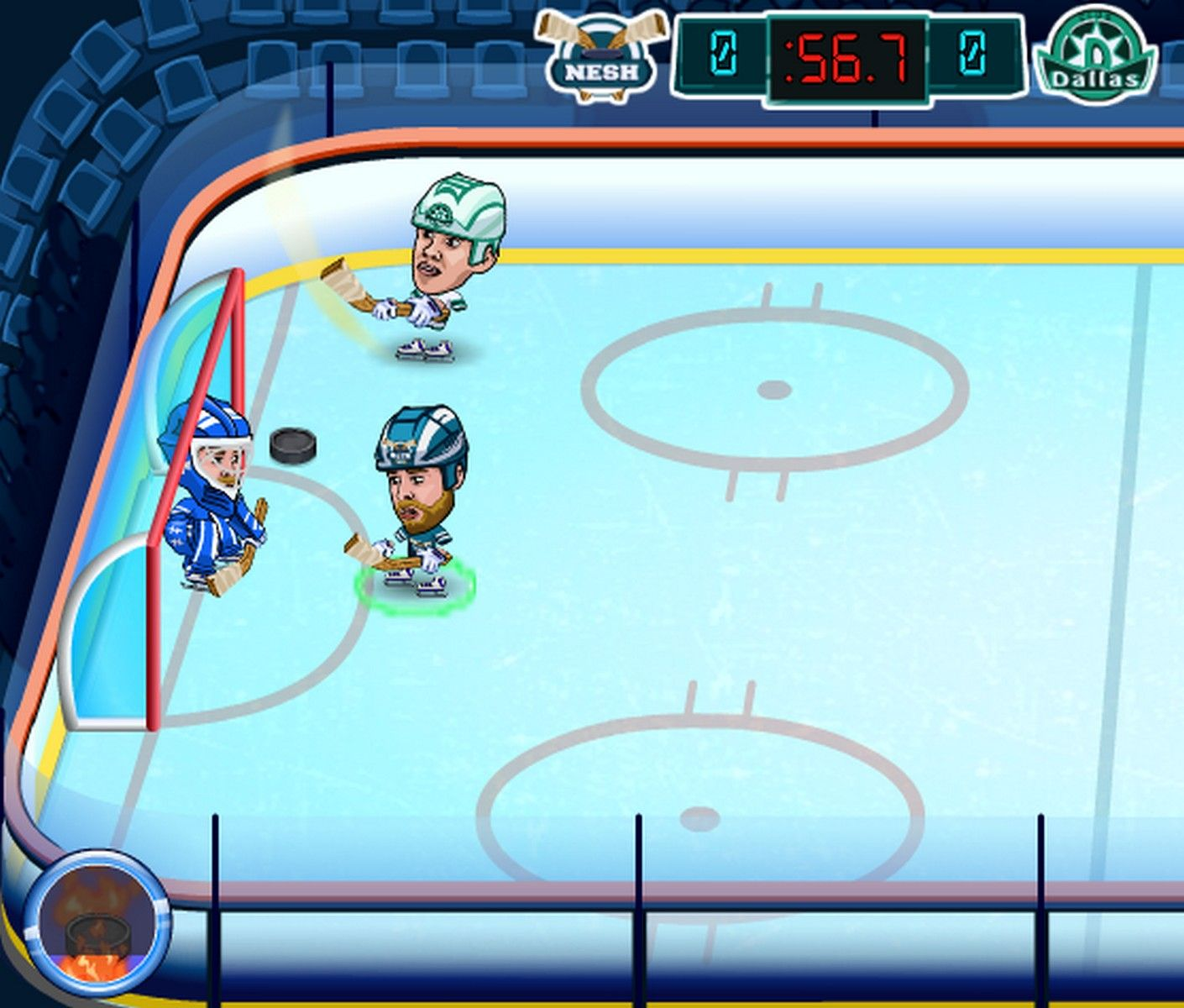 Gamesroom Ideas Lets You Play Against The Computer Hockey Legends