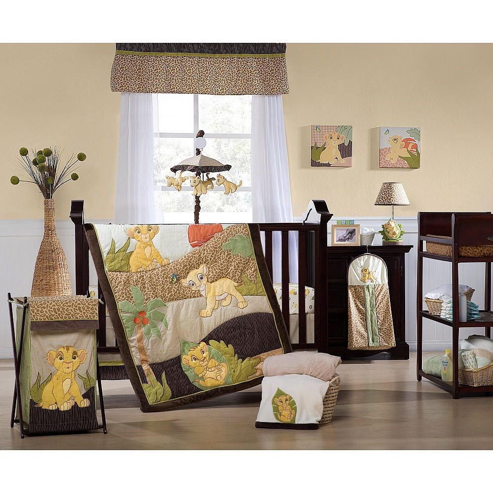 Crib for twins babies r us - Kids Line Lion King 7 Piece Crib Bedding Set Kids Line Babies