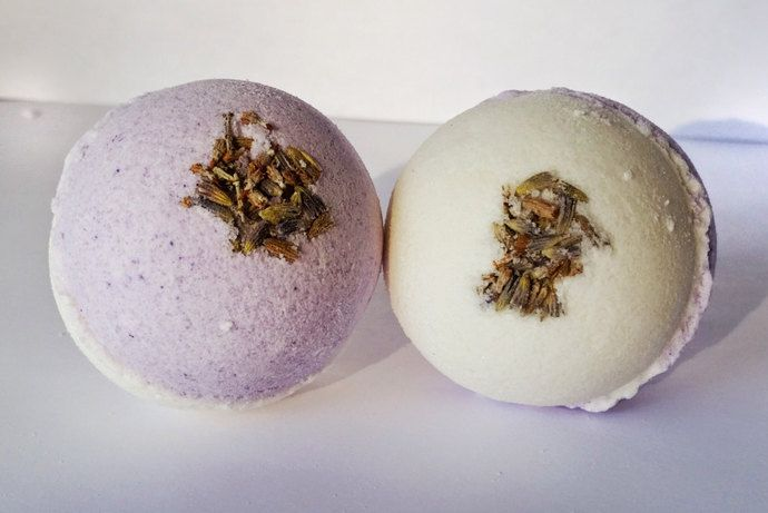 French Lavender and Citrus Bath Bomb - Bath Fizzy, Vegan Bath Bomb, Vegan Bath Fizzy, Bath Fizzies, Gifts for Her, Handmade Bath Bomb by emilyshandmadesoaps, $5.00 USD