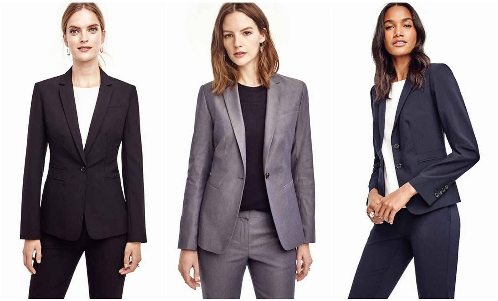 womens suits for residency interview, what do you wear to