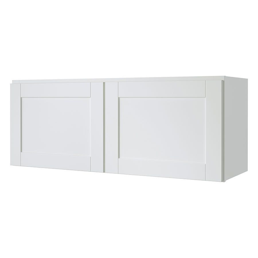 Kitchen Classics Arcadia 36 In W X 14 In H X 12 In D White Door Wall Cabinet White Doors Stock Cabinets Kitchen Wall Cabinets
