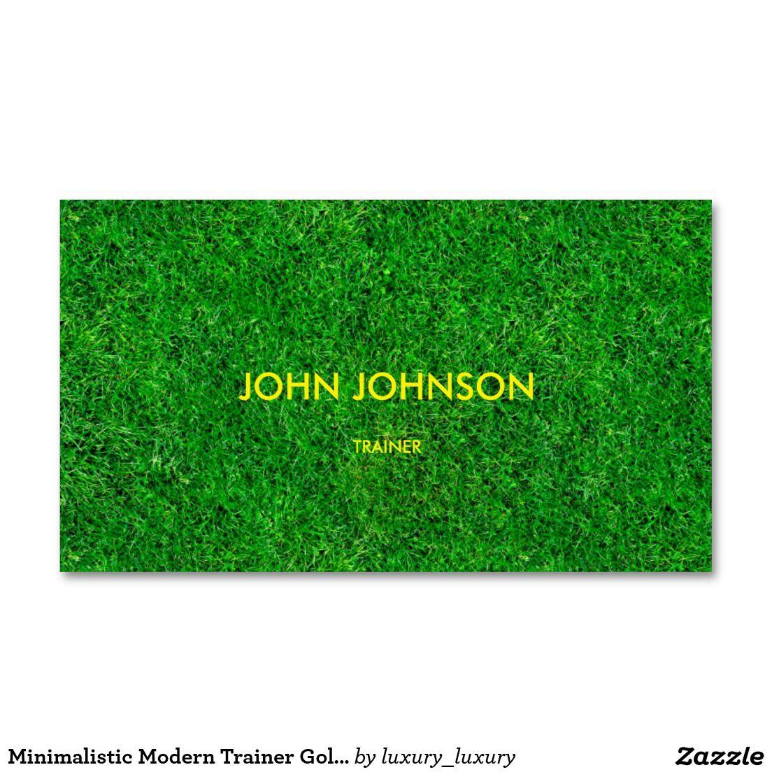 Minimalistic modern trainer golf business card vip card minimalistic modern trainer golf business card colourmoves