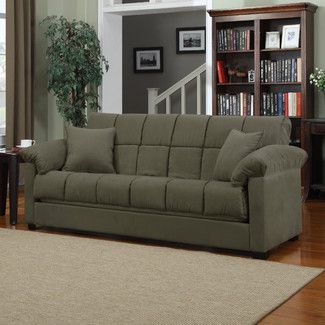 Found It At Allmodern Handy Living Convert A Couch Sleeper Sofa Color