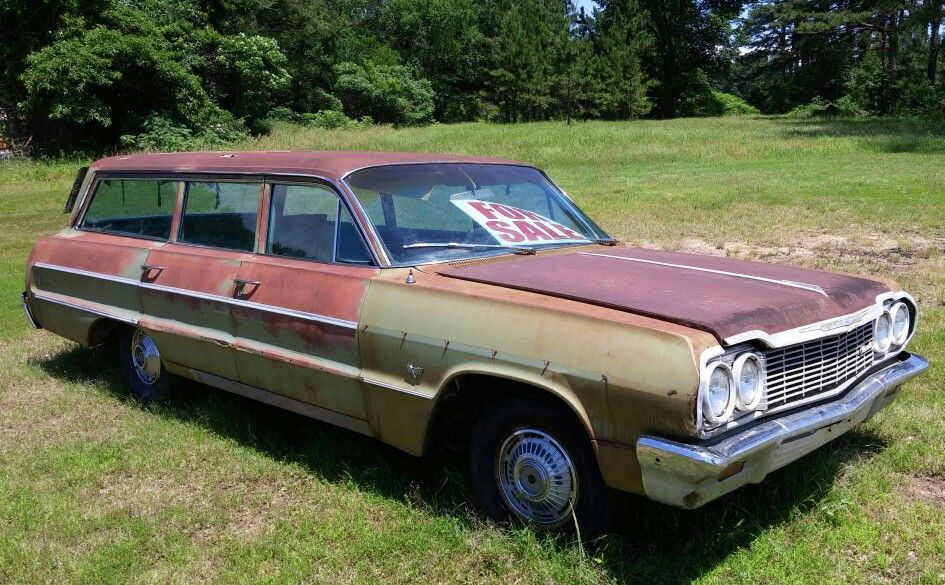 64 Chevy Impala Station Wagon For Sale Near Sallisaw Oklahoma