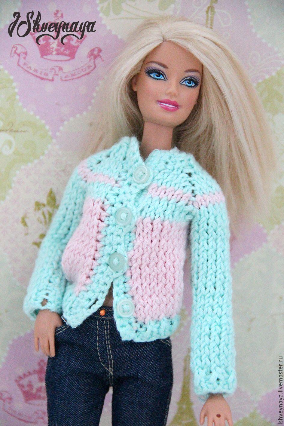 Купить или заказать Модные джинсы для Барби 'Miss' в интернет-магазине на Ярмарке Мастеров. Модные реалистичные джинсы для куклы Барби темно-синего цвета с контрастной отстрочкой. Страза имитирует пуговицу. Карманы спереди и сзади действующие. Застежка сзади на кнопку.