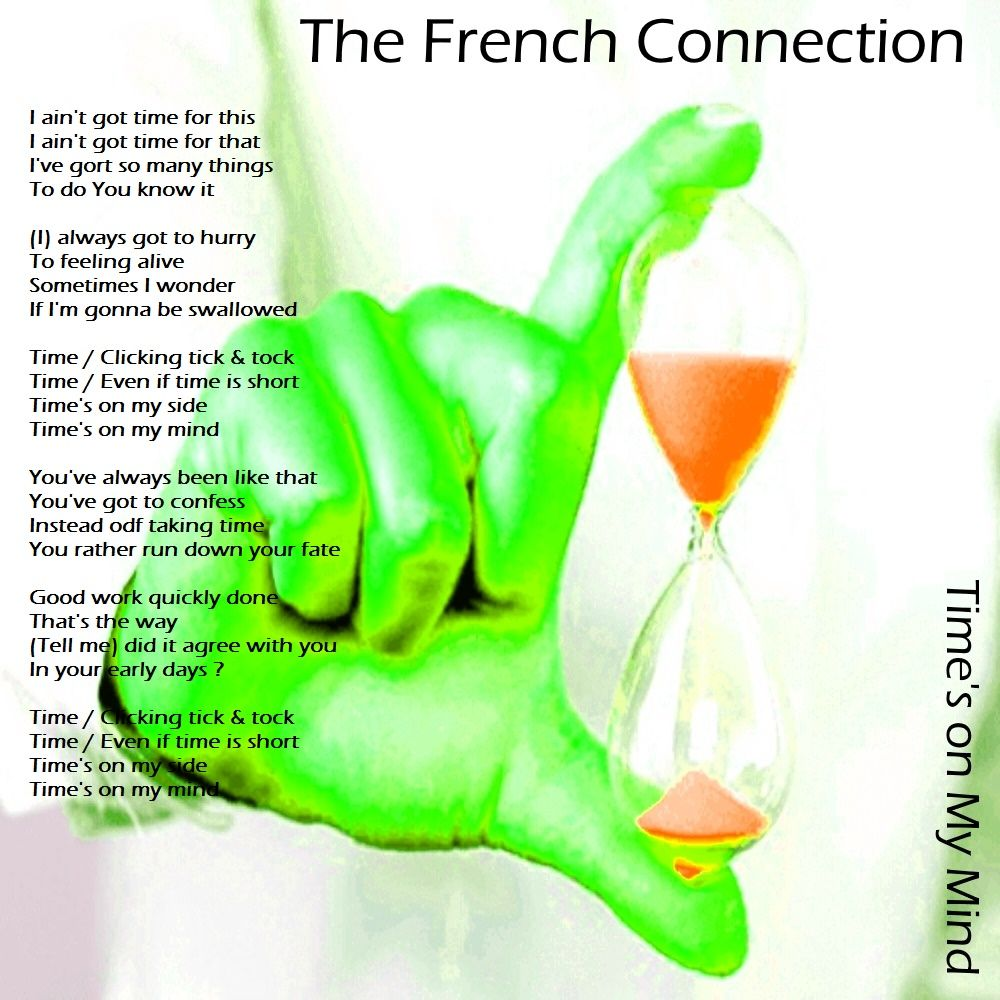 """Hello ! This is The French Connection . Watch """"Time's On My Mind"""" Video Extarct at https://youtu.be/71Fn6iy5qD4?t=4s Keep in Touch ."""