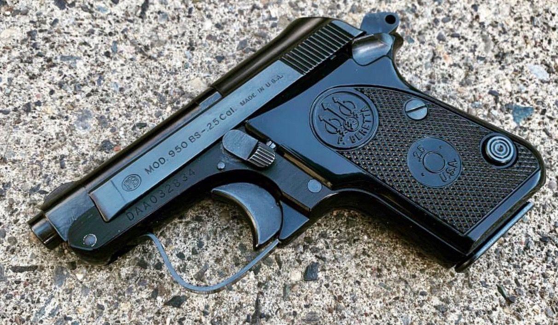 Beretta model 950BS  25 ACP | PROTECTIONFROMTYRANTS | Pocket