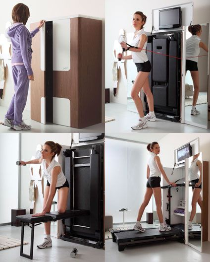 17 Best Images About Fitness Equipment On Pinterest: XFit: The Hidden Home Gym
