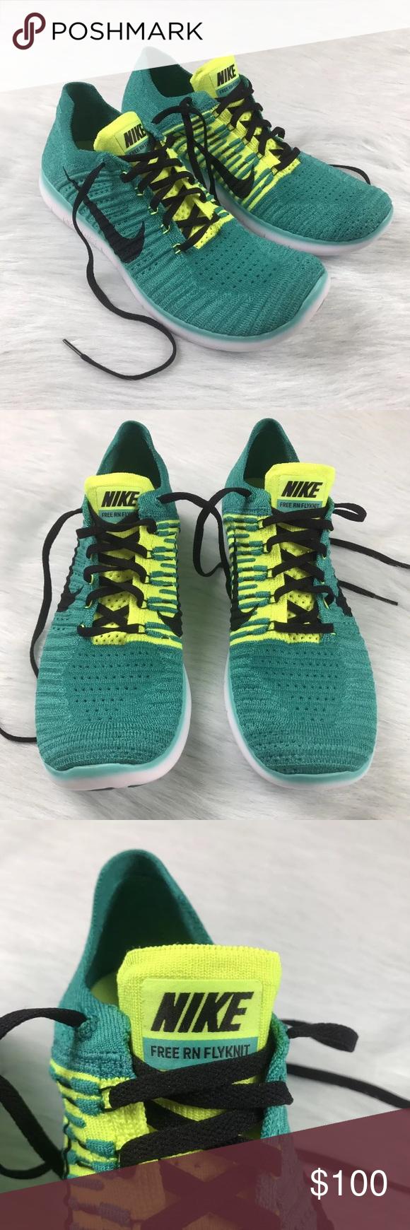 Nike Free Rn Flyknit Running Zapatos Zapatillas Sz Nike 11 Hombres Size 11 Nike Sz 879e17