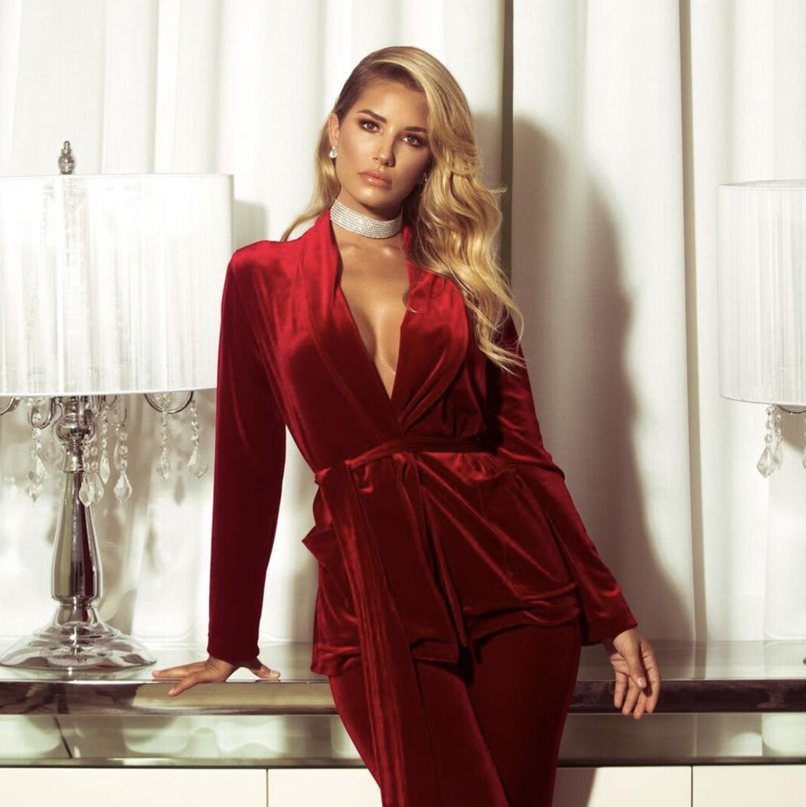 Foxy Love Velvet Set - Ruby In 2019
