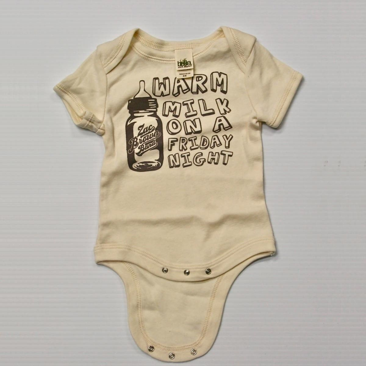 03d0052f6 ZBB Warm Milk On a Friday Night-Baby Onesie