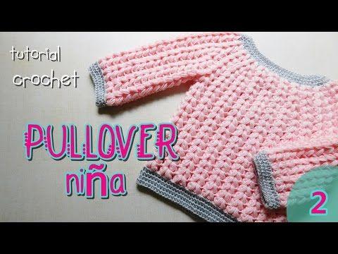 Abrigo de bebé unisex - Tutorial Crochet paso a paso (1 de 2 ...