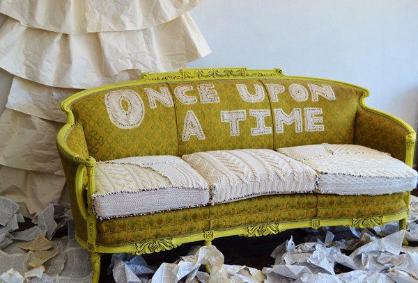 ONcE UpOn a TiMe..............      Funky Punk Boho Sofa