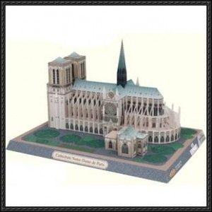 Canon Papercraft: Architecture/Building Paper Model - Notre