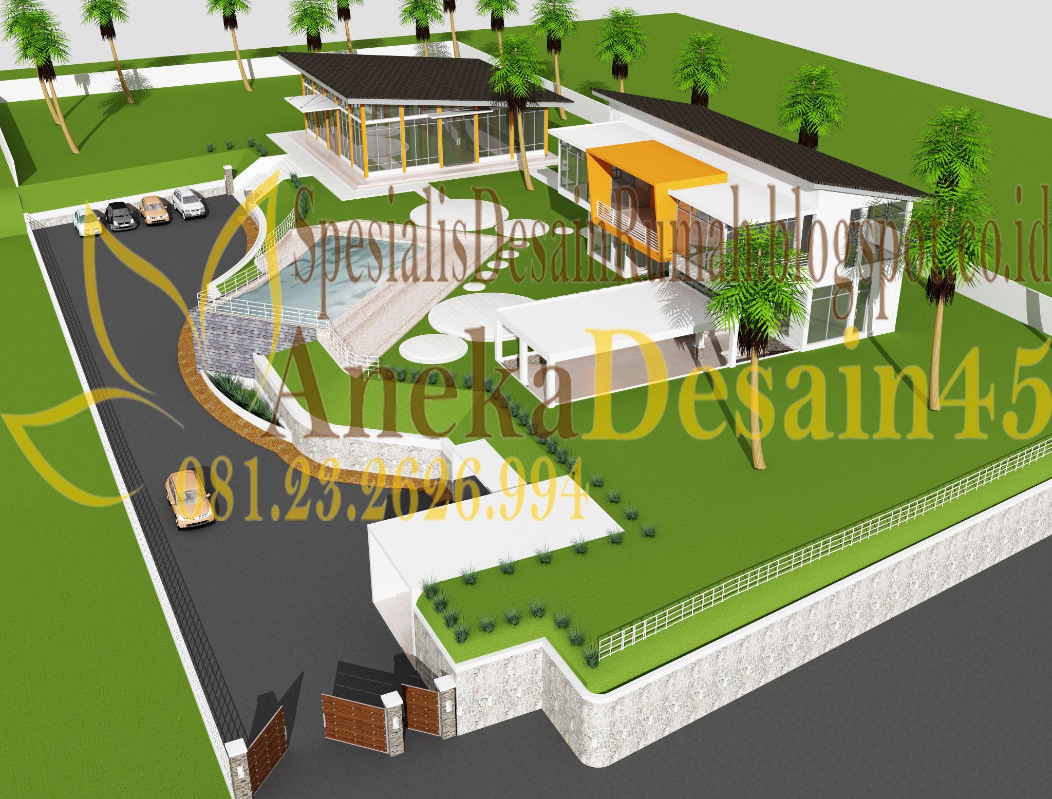 Jasa Desain Rumah Minimalis 2 LantaiJasa Pembuatan Rumah