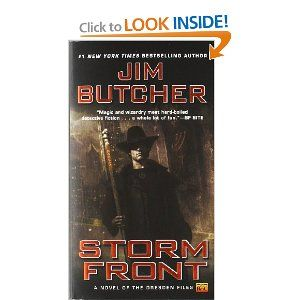 Storm Front (The Dresden Files, Book 1) First book in a terrific series - sort of Harry Potter grown up and living in Chicago