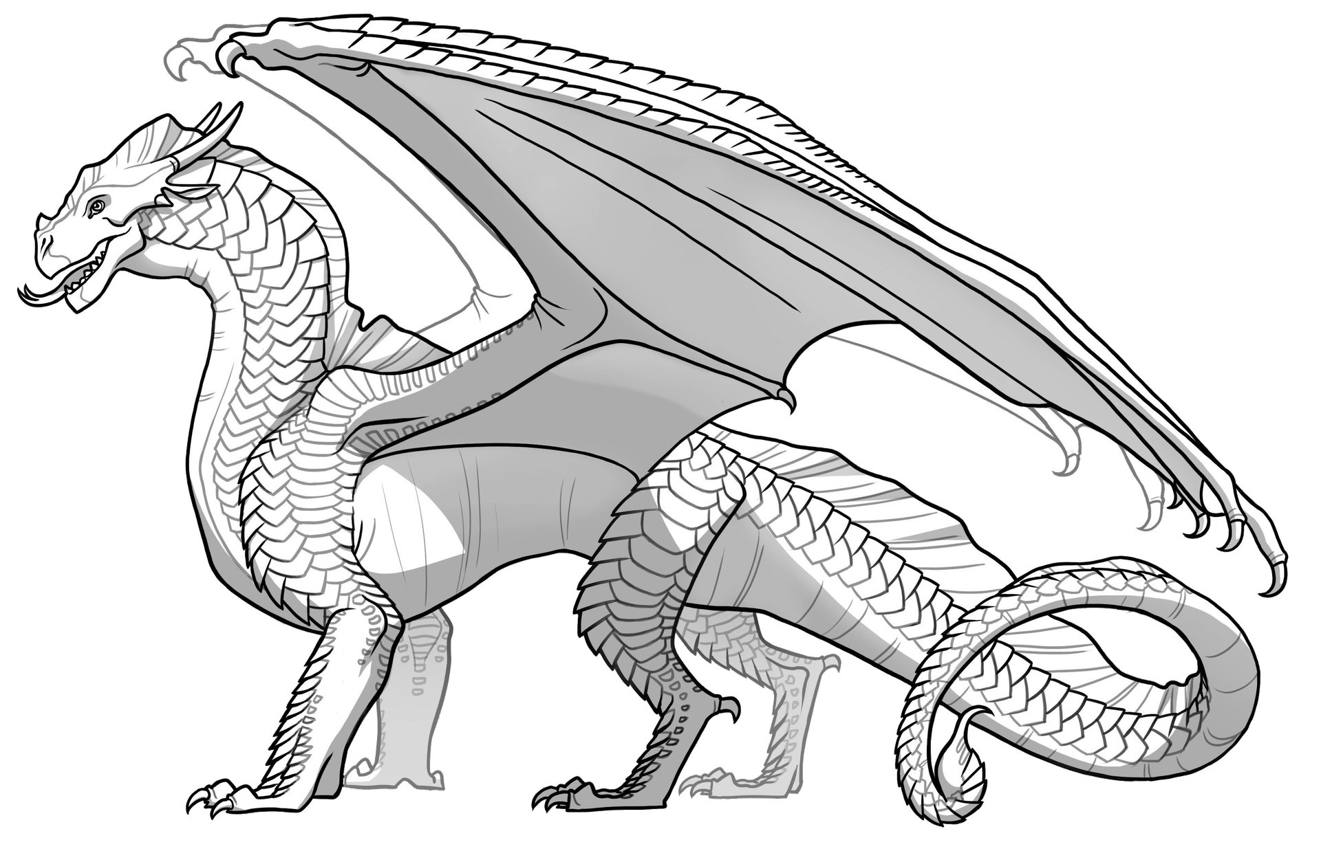 Wings Of Fire Color Edits Complete Requests Original Line Arts Dragon Coloring Page Wings Of Fire Dragons Wings Of Fire