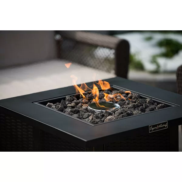Legacy Heating Steel Propane Fire Pit Table & Reviews