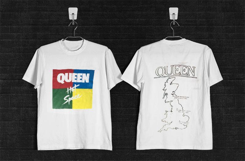 25730d722c1 Space T Shirts Ideas  spaceshirts  spacetshirts VINTAGE FREDDIE MERCURY  1982 QUEEN HOT SPACE TOUR