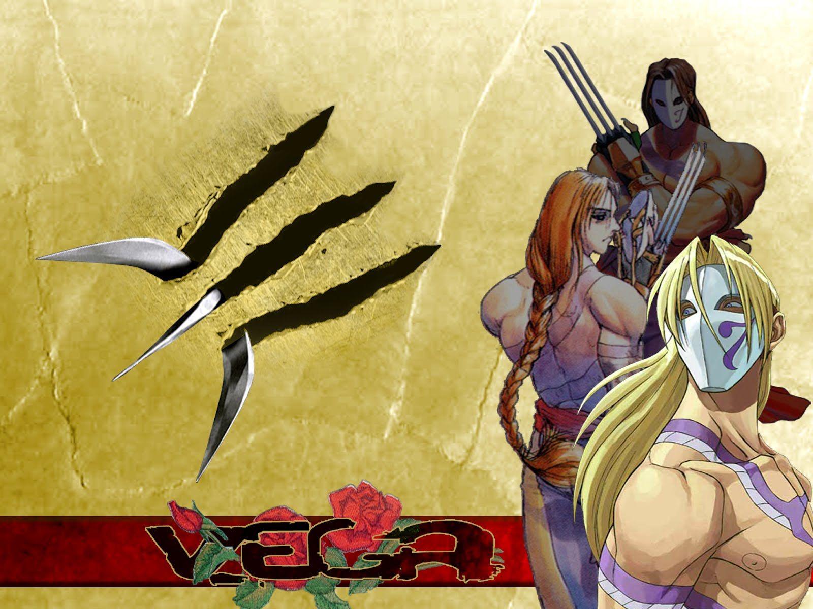 Vega Street Fighter V Hd Wallpaper 1920x1080 Id 58151 With