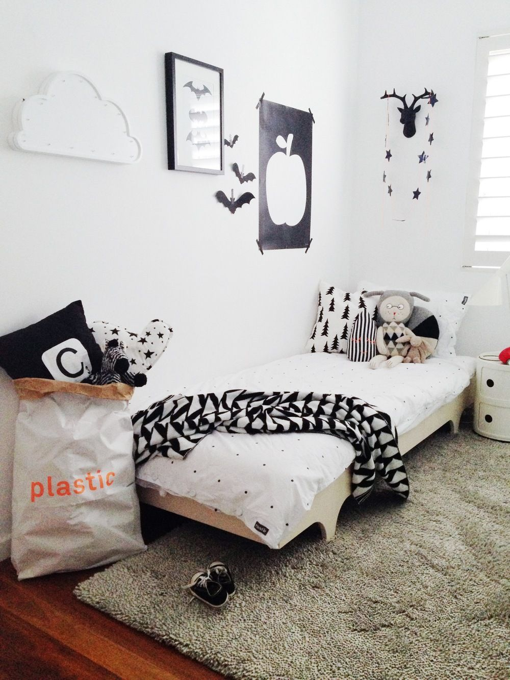 Room Tour  Little Designs White Kids Room And Modern Kids Stunning Monochrome Bedroom Design Ideas Decorating Inspiration