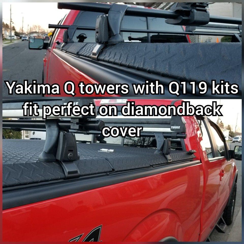 Yakima On Diamondback Cover Truck Covers Diamondbacks Holden Colorado