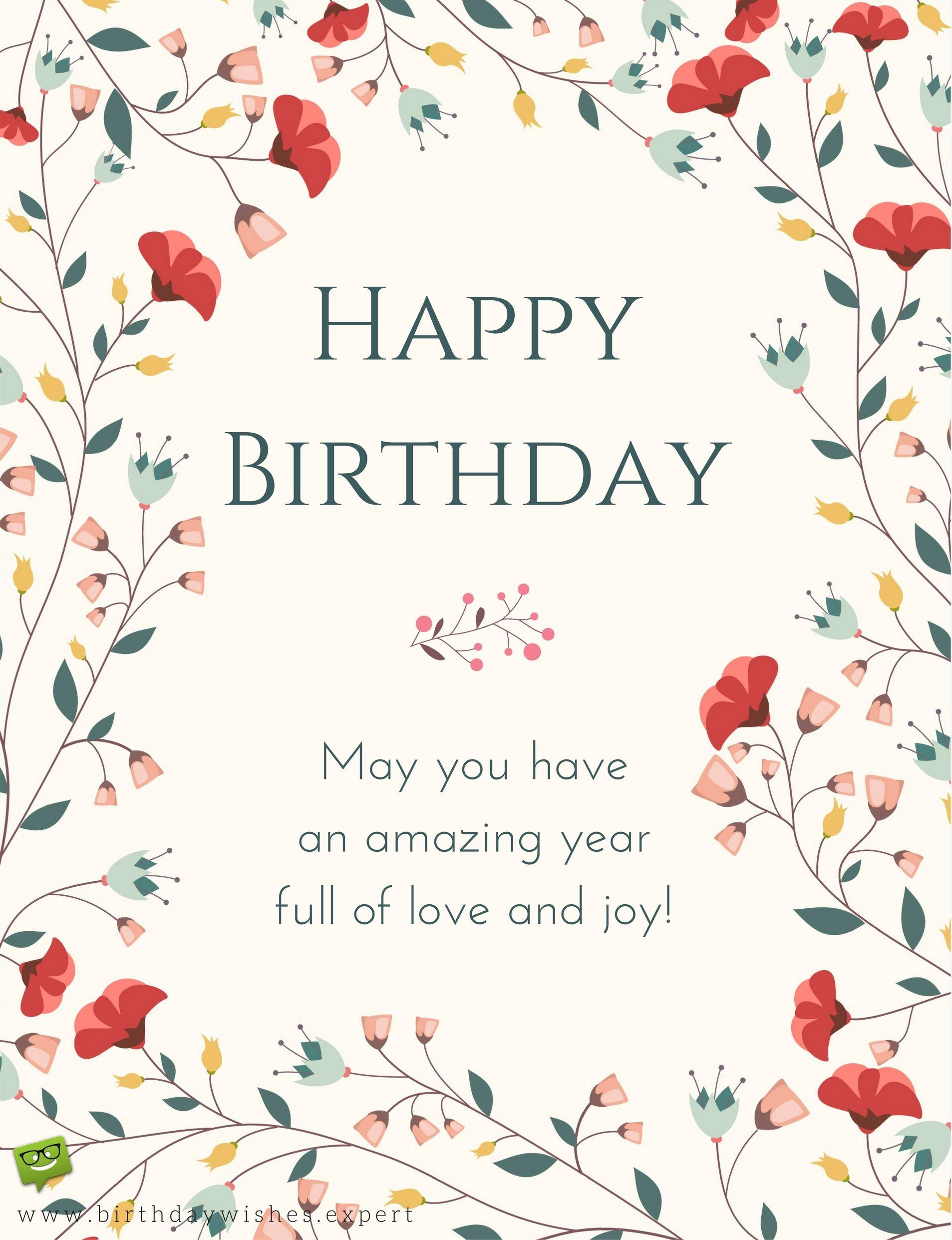 Following Protocol Formal Birthday Wishes Birthday