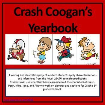 Crash Coogan S Yearbook Journals Middle School Writing