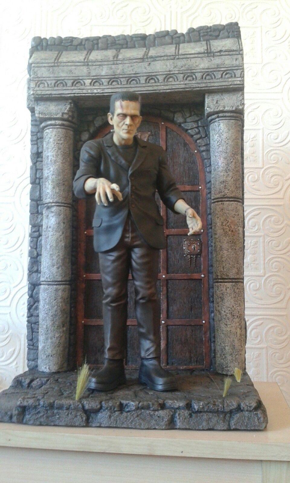 frankenstein model kit with diarama | eBay | Hollywood